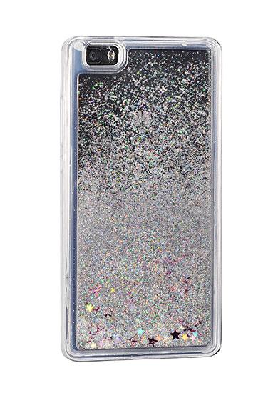 Zadní kryt Glitter Water Case HUAWEI P9 LITE 2017 - stars stříbrný ... 662612d3a50