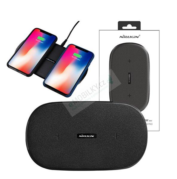 Nillkin Gemini dual fast wireless charging pad (Supports 5W, 7.5W, 10W)