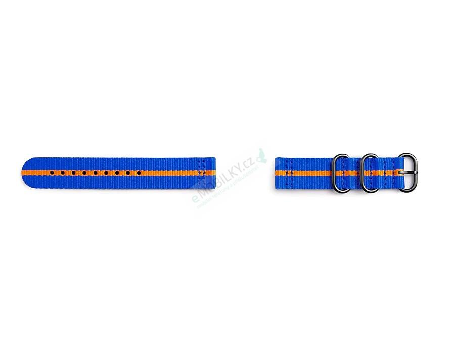GP-R600BREECAJ Samsung Gear Sport Studio Premium Nato Strap Blue/Orange 7613119112606