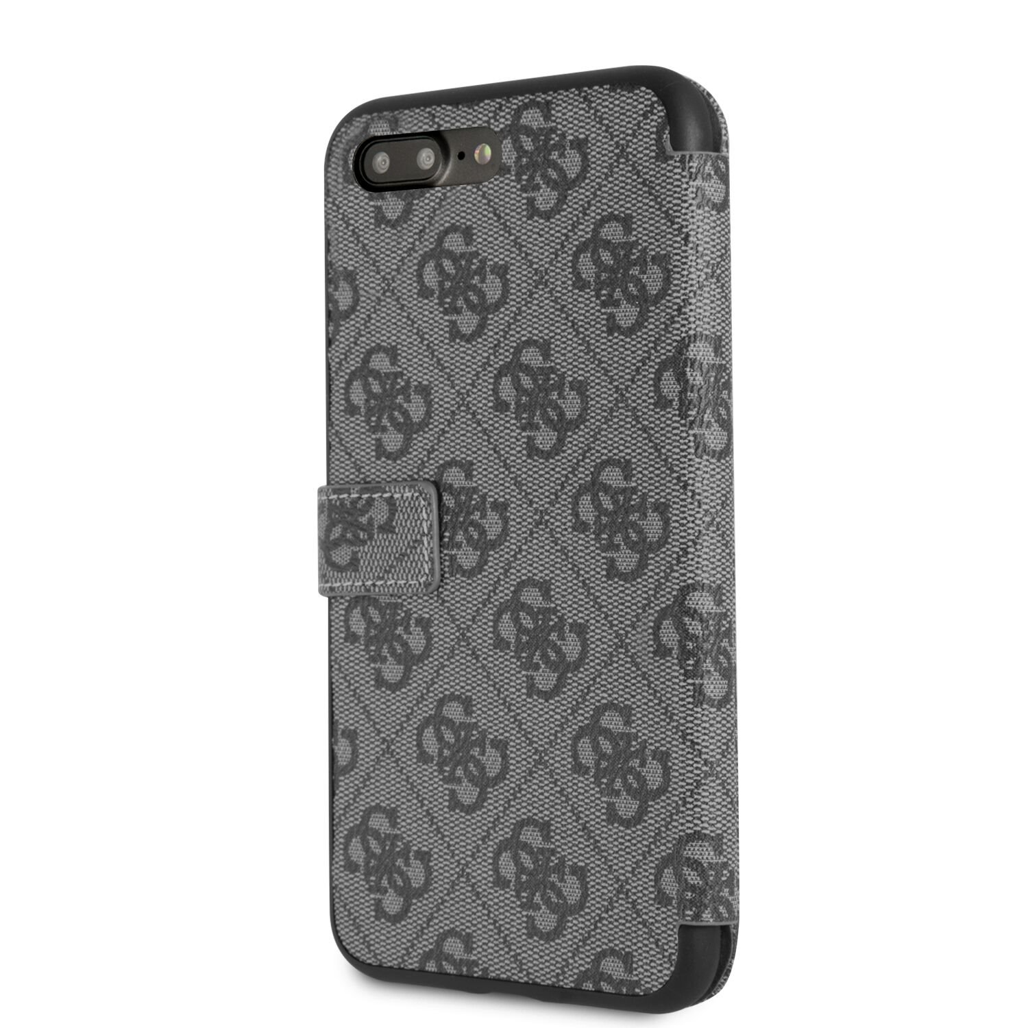 GUFLBKI8L4GG Guess Charms Book Case 4G Grey pro iPhone 7/8 Plus 3700740451557