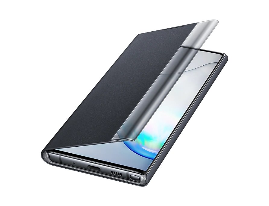 EF-ZN970CBE Samsung Clear View Case pro N970 Galaxy Note 10 Black 8806090029479