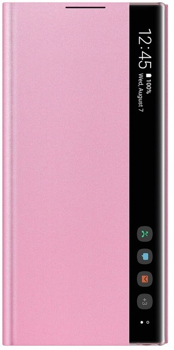 EF-ZN970CPE Samsung Clear View Case pro N970 Galaxy Note 10 Pink 8806090042331