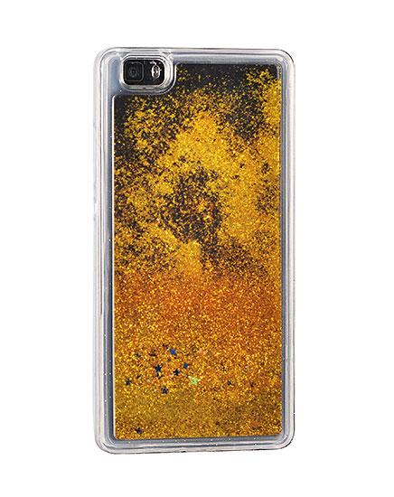 Zadní kryt Glitter Water Case APPLE IPHONE 5S 5 SE - stars zlatý ... 19a4fb67c09