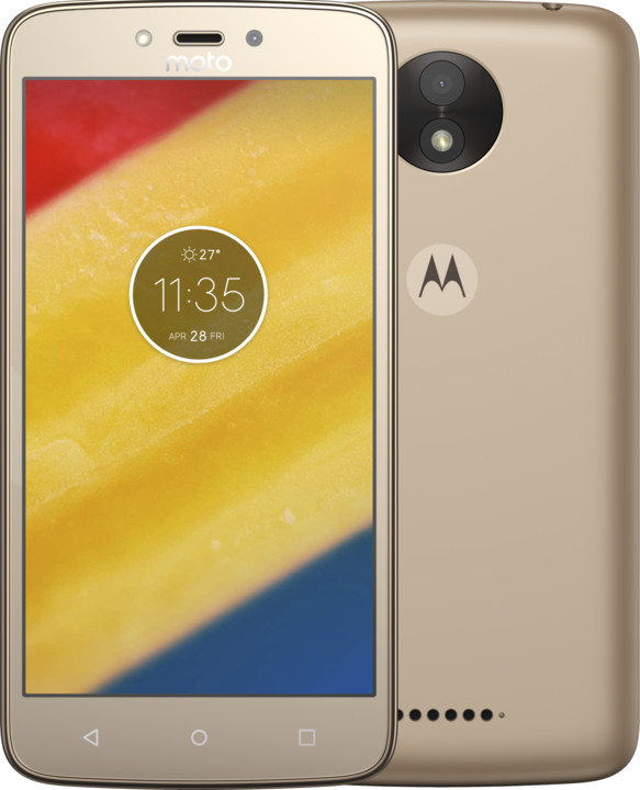 Lenovo Moto C Plus DS 16+1GB Gold