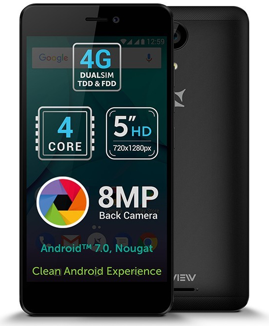 Allview P7 Lite DualSIM Dark Grey