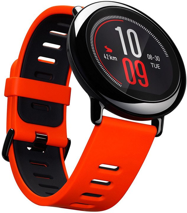 c06527c04 Xiaomi Huaomi Amazfit, Global, červená - chytré hodinky - CZ ...
