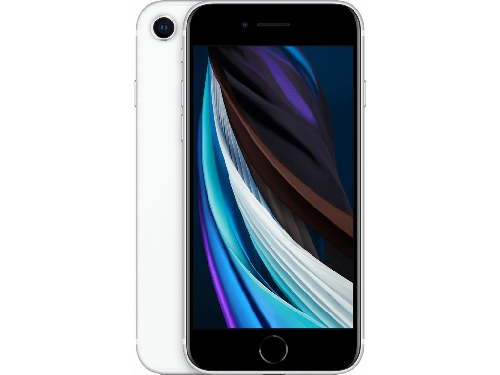 Apple iPhone SE (2020) 128GB, bílý