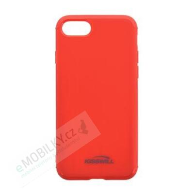Kisswill TPU Brushed Pouzdro Red pro iPhone 7/8 Plus