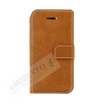 Molan Cano Issue Book Pouzdro pro Huawei P20 Lite Brown