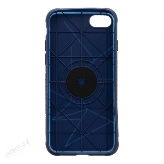 Tactical TPU Magnetic Kryt pro iPhone 7/8 Blue (EU Blister)
