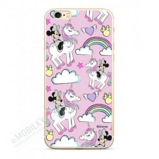 Disney Minnie 037 Glitter Back Cover pro iPhone 5/5S/SE Pink