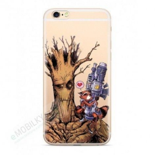 Guardians of The Galaxy 001 TPU Kryt pro Huawei P30 Lite Transparent 5902980429916
