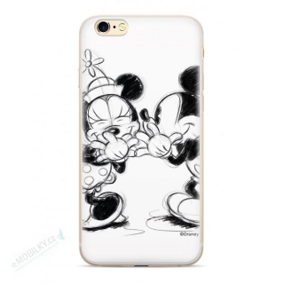 Disney Mickey & Minnie 010 Back Cover pro iPhone 6/7/8Plus White
