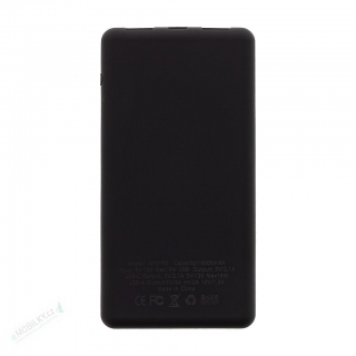MyMAx MP2 PowerBank QC 3.0 LCD Type C/MicroUSB 10000mAh Black (EU Blister)