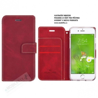 Molan Cano Issue Book Pouzdro pro iPhone 7/8 Red