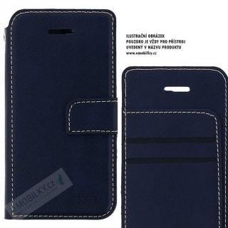 Molan Cano Issue Book Pouzdro pro iPhone XR Navy