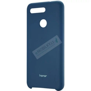 Honor Original Silikonový Kryt pro Honor View 20 Blue (EU Blister) 6901443268061