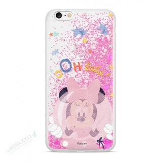 Disney Minnie 046 Glitter Back Cover Pink pro iPhone 5/5S/SE
