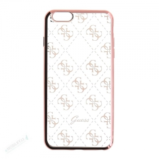 GUHCP6TR4GRG Guess 4G TPU Pouzdro Rose Gold pro iPhone 6/6S 3700740374023