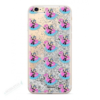 Disney Minnie 023 Glitter Back Cover Silver pro iPhone 6/7/8