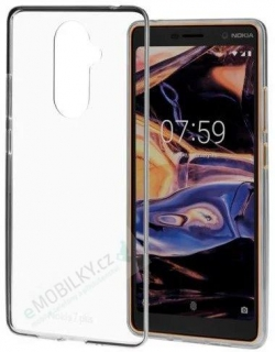 CC-708 Nokia Slim Crystal Cover pro Nokia 7 Plus Transparent (EU Blister)