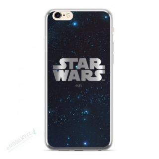 Star Wars Luxury Chrome 003 Kryt pro iPhone 6/6S/7/8 Plus Silver