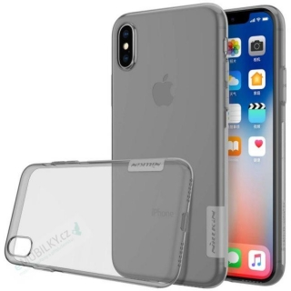 Nillkin Nature TPU Kryt Grey pro iPhone X/XS 6902048146532