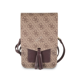 GUWBSQGBE Guess 4G Wallet Universal Pouzdro Beige 3700740448335