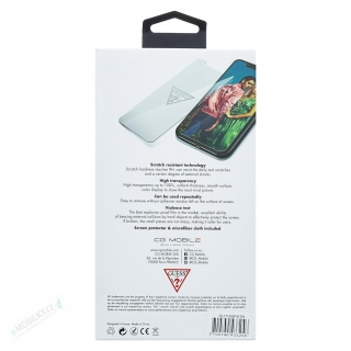GUTGMI61TR Guess Tvrzené Sklo Invisible Logo pro iPhone XR 3700740439159