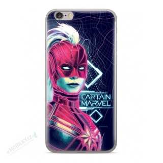 MARVEL Captain Marvel 013 Kryt pro Samsung G930 Galaxy S7 Dark Blue