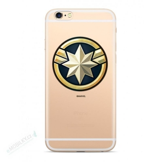 MARVEL Captain Marvel 016 Kryt pro Samsung G930 Galaxy S7 Transparent