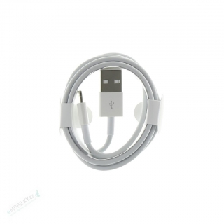 MD818 iPhone 5 Lightning Datový Kabel White (Round Pack)