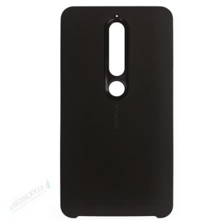 CC-505 Nokia Soft Touch Case pro Nokia 6.1 Black (EU Blister)