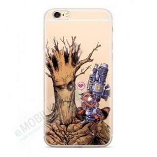 Guardians of The Galaxy 001 TPU Kryt pro Huawei Y6 2019 Transparent 5903040748008