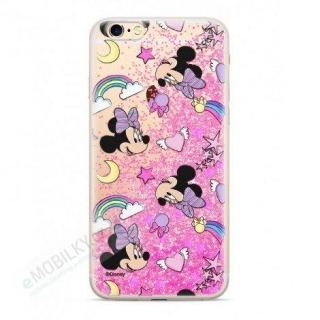 Disney Minnie 031 Glitter Back Cover Pink pro iPhone 7/8