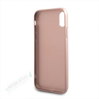 GUHCI65IGLRG Guess PU Leather Hard Case Iridescent Rose Gold pro iPhone XS Max 3700740437568