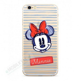 Disney Minnie 011 Back Cover Transprent pro iPhone X/Xs