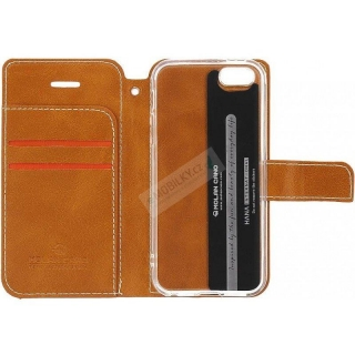 Molan Cano Issue Book Pouzdro pro Huawei Y6 2019 Brown 8596311065378