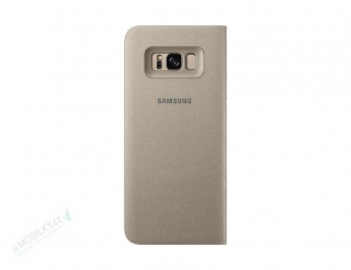 EF-NG955PFE Samsung LED View Case Gold pro G955 Galaxy S8 Plus (Pošk. Blister)