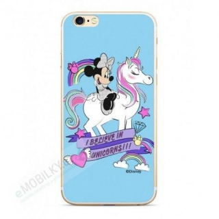 Disney Minnie 035 Back Cover Blue pro iPhone 5/5S/SE