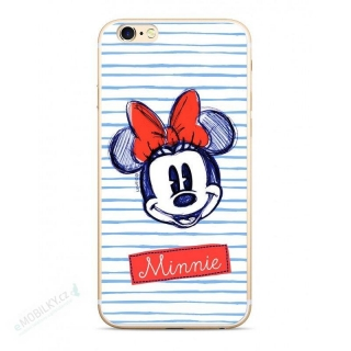 Disney Minnie 011 Back Cover White pro Huawei P20 Lite