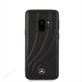 MEHCS9LDCLBK Mercedes Hard Case New Organic I Black pro Samsung G965 Galaxy S9 Plus