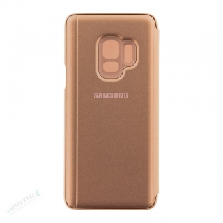 EF-ZG960CFE Samsung Clear View Cover Gold pro G960 Galaxy S9 (EU Blister)