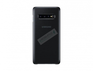 EF-ZG975CBE Samsung Clear View Cover Black pro G975 Galaxy S10 Plus (EU Blister) 8801643651305