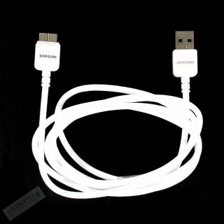 ET-DQ11Y1WE Samsung Galaxy Note3 Datový Kabel White 1,5m (Bulk)