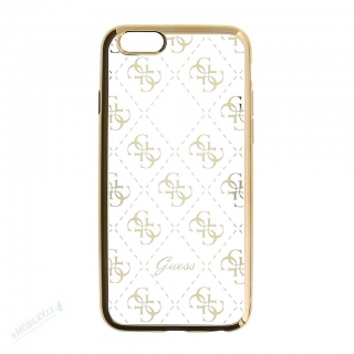 GUHCPSETR4GG Guess 4G TPU Pouzdro Gold pro iPhone 5/5S/SE 3700740378403
