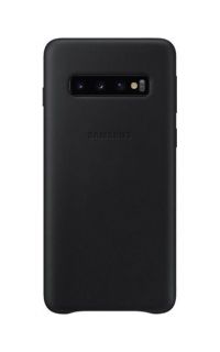 EF-VG973LBE Samsung Leather Cover Black pro G973 Galaxy S10 (EU Blister) 8801643644567