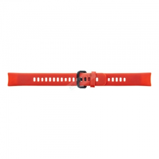 Tactical 442 Silikonový Řemínek pro Honor Band 4/5 Red 8596311097966