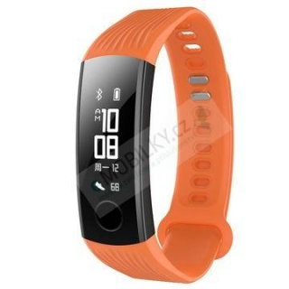 Tactical 567 Silikonový Řemínek pro Honor Band 3 Orange 8596311100505