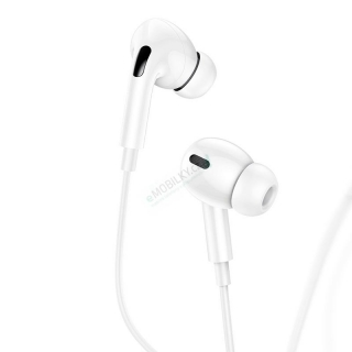 USAMS EP-41 In-Ear Stereo Headset 3,5mm 1,2m White 6958444912899
